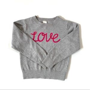 Oshkosh B'Gosh Toddler Girl Love Sweater